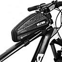 ieftine Genți Bicicletă-1 L Genți Cadru Bicicletă Impermeabil Portabil Fermoar Impermeabil Geantă Motor PU piele EVA Geantă Biciletă Geantă Ciclism Ciclism Bicicletă
