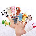cheap Puppets-Pig Finger Puppets / Puppets Cute / Novelty / Lovely Cartoon Textile / Plush Girls' Gift 5 pcs