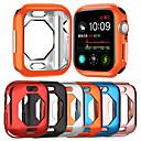 voordelige Smartwatch-hoezen-koffers voor apple watch serie 4 tpu compatibiliteit apple innovatieve achthoekige tpu holle behuizing beschermende hoes