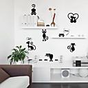 رخيصةأون أدوات الحمام-جميل كيتي ضوء التبديل ملصقات الحائط - الكلمات&amp ؛ أمبير يقتبس ملصقات الحائط الشخصيات دراسة غرفة / مكتب / غرفة الطعام / المطبخ