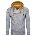 povoljno Men's Winter Coats-Muškarci Osnovni Hoodie Geometrijski oblici