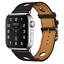 povoljno Apple Watch remeni-remen za satove za jabučne satove serija 5/4/3/2/1 naramenica za jastuke od narukvice od prave kože od prirodne kože