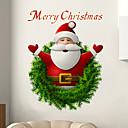 رخيصةأون الستائر-سانتا كلوز ملصقات الحائط - الكلمات&amp ؛ أمبير يقتبس ملصقات الحائط الشخصيات دراسة غرفة / مكتب / غرفة الطعام / المطبخ