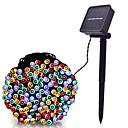 povoljno LED svjetla u traci-LOENDE 8m Žice sa svjetlima 60 LED diode Dip Led Toplo bijelo / RGB / Bijela Napelemes