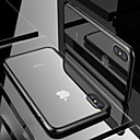 رخيصةأون أغطية أيفون-غطاء من أجل Apple iPhone XS / iPhone XR / iPhone XS Max شفاف غطاء خلفي شفاف قاسي زجاج مقوى