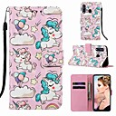 voordelige Hoesjes / covers voor Sony-case voor sony xperia xa3 / sony xperia l3 patroon / flip / met standaard full body cases dier / cartoon hard pu leer voor xperia l2 / sony xperia xa1 / sony xperia xa2