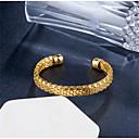 ieftine Inele-Pentru femei Brățări Bantă Clasic Credinţă Stilat Placat Auriu Bijuterii brățară Auriu / Argintiu Pentru Cadou Zilnic