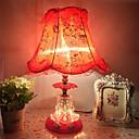 povoljno Stolne svjetiljke-Suvremena suvremena / Tradicionalni / klasični Ambient Lamps / Ukrasno / Divan Stolna lampa / Uredska lampa / Reading Light Za Study Room / Office / Djevojke Soba Glass 110-120V / 220-240V Red