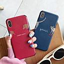 ieftine Imbracaminte & Accesorii Căței-caz pentru iphone iphone 6 / iphone xs max model back cover caricaturi moale silicagel pentru iphone 6 / iphone 6 plus / iphone 6s