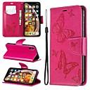 ieftine Carcase iPhone-case pentru Apple iPhone xr / iphone xs max magnetice / flip / cu suport corp corpul plin fluture / solid colorate hard piele pu pentru iphone 6 / 6s plus / 7/8 plus / xs / x