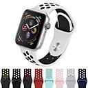 رخيصةأون أساور ساعات هواتف أبل-حزام إلى Apple Watch Series 4/3/2/1 Apple عصابة الرياضة سيليكون شريط المعصم