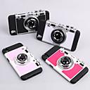 رخيصةأون أغطية أيفون-غطاء من أجل Apple iPhone XS / iPhone XR / iPhone XS Max مع حامل غطاء خلفي 3Dكرتون قاسي TPU
