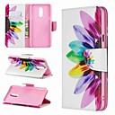 رخيصةأون Motorola أغطية / كفرات-غطاء من أجل LG LG V30 / LG V20 / LG Stylo 4 محفظة / ضد الصدمات / مع حامل غطاء كامل للجسم زهور قاسي جلد PU / LG G6