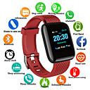 povoljno Pametni satovi-D13S Muškarci Smart Satovi Android iOS Bluetooth Vodootporno Ekran na dodir Heart Rate Monitor Mjerenje krvnog tlaka Sportske Brojač koraka Podsjetnik za pozive Mjerač aktivnosti Mjerač sna Pronađi