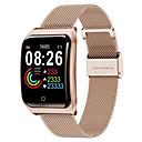 billige Smartklokker2-f9 smartwatch rustfritt stål bt fitness tracker support varsle & hjertefrekvensmonitor kompatible apple / samsung / android telefoner