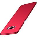 voordelige Galaxy S-serie hoesjes / covers-hoesje voor Samsung Galaxy S8 / S8 plus ultradunne cover effen gekleurde harde pu leer voor s6 / s6 rand / s7 rand s7