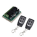 povoljno Releji-dc12v 4ch bežični daljinski upravljač prekidač / učenje kod 4ch relej prijemnik / uključivanje / isključivanje vodootporan daljinski / trenutni / prekidač / zaključan može promijeniti / 433mhz