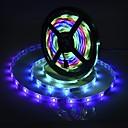 povoljno Fleksibilne LED svjetlosne trake-brelong® 5m rgb traka svjetla 300 led smd5050 10 mm višebojna rezna / zabava / ukrasna 220-240 v / 110-120 v 1 set
