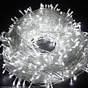 povoljno LED svjetla u traci-20m 66ft 200 svjetlosnih svjetiljki dip LED vremenski otporna ukrasna rasvjeta za terasu spavaće sobe zatvoreni vanjski dom za djecu, božićno drvce praznična zabava