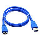 ieftine USB-uri-LITBest USB 3.0 la Micro USB 3.0 Bărbați-Bărbați 1.0m (3ft) PVC