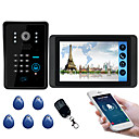 voordelige Auto DVR's-618mjids11 7 inch capacitieve touchscreen video camera bedraad video deurbel wifi / 3g / 4g remote call unlock opslag outdoor machine wachtwoord kaart