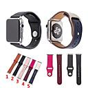رخيصةأون أساور ساعات هواتف أبل-جلد طبيعي حزام حزام لساعة أبل سلسلة iwatch 1 2 3 4
