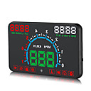 voordelige Head-up displays-obd hud digitale universele projectie display auto vrachtwagen snelheidsmeter temperatuur display