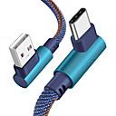 رخيصةأون كابلات ومحولات هواتف-شاحن سلك بيانات من النوع c لهاتف Samsung s8 / s9 / note 9/8 / xiaomi mi 8 / mi 6