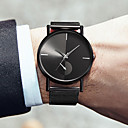 cheap Women's Watches-Men's Dress Watch Quartz Stainless Steel Black / Silver / Rose Gold 30 m Water Resistant / Waterproof Casual Watch Cool Analog Casual Fashion - Black Silver Rose Gold One Year Battery Life
