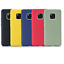 رخيصةأون Huawei أغطية / كفرات-غطاء من أجل Huawei Mate 10 lite / Huawei Mate 20 lite / Huawei Mate 20 pro مثلج غطاء خلفي لون سادة ناعم TPU