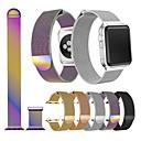 voordelige Apple Watch-bevestigingen & -houders-Horlogeband voor Apple Watch Series 4/3/2/1 Apple Sportband / Milanese lus Roestvrij staal Polsband