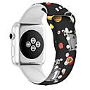 رخيصةأون خواتم-الفرقة smartwatch لسلسلة أبل ووتش 4/3/2/1 سيليكون حزام الرياضة الفرقة iwatch