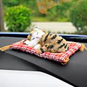 povoljno Privjesci za automobile i ornamenti-auto ukrasi slatka simulacija spavaćih mačaka uređenje automobila lijep pliš mačići lutka igračka