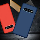 رخيصةأون حافظات / جرابات هواتف جالكسي S-غطاء من أجل Samsung Galaxy S9 / S9 Plus / S8 Plus ضد الصدمات / نحيف جداً / مثلج غطاء خلفي لون سادة ناعم TPU