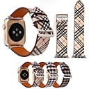 voordelige Apple Watch-bandjes-pu smartwatch band voor apple watch serie 4/3/2/1 klassieke gesp iwatch riem
