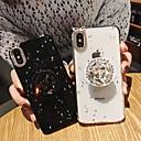 voordelige iPhone-hoesjes-hoesje Voor Apple iPhone XS / iPhone XR / iPhone XS Max Strass / met standaard / Glitterglans Achterkant Glitterglans Zacht TPU