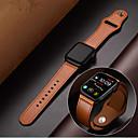ieftine Caiete & Bilete Lipicioase-genți din piele de mână din piele pentru ceas de mână serie 1/2/3/4 38mm 40mm 42mm 44mm