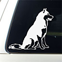ieftine Lumini de Interior Mașină-amuzant auto huskie decal autocolant decorare auto