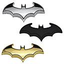 رخيصةأون جسم السيارة الديكور والحماية-3d الخفافيش تصميم المعادن الشارات سيارة فريدة ملصقات مضحك جسم السيارة ملصقا التصميم