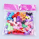 ieftine Haine Păpușă Barbie-Pantofi de papusa 20 pcs Pentru Barbie Poliester Încălțăminte Pentru Fata lui păpușă de jucărie
