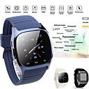 رخيصةأون ساعات ذكية-M26s ساعة ذكية امرأة رجل بلوتوث مقياس الارتفاع ساعة توقيت smartwatch مزامنة عداد الخطى الموسيقى لمكافحة خسر لالروبوت الهاتف الذكي