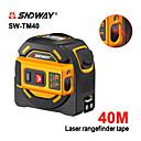 povoljno Testeri i detektori-sndway laserski daljinomjer udaljen 40m laserski mjerni vrpca digitalni uvlačiv 5 m alat za laserski daljinomjer