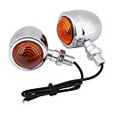 رخيصةأون حافظات / جرابات هواتف جالكسي S-2pcs دراجة نارية لمبات الضوء LED ضوء إشارة اللف من أجل دراجات نارية