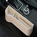 billiga Nyckelringar-multifunktions läder förvaringslåda för bilsäte sidospalt