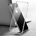 voordelige iPhone 6 Plus hoesjes-hoesje Voor Apple iPhone XS / iPhone XR / iPhone XS Max Spiegel / Transparant Achterkant Transparant Hard Gehard glas