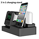 voordelige Smartwatch-hoezen-3 in 1 laadstation dock iwatch airpods oplader stand laaddocks voor apple watch serie 3/2/1 / airpods / iphone x / 8 / plus / 7/7/6 / plus