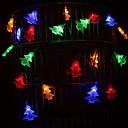 ieftine Frontale-3m lămpi de crăciun Crăciun copaci 20 leds multi color Crăciun vacanță partid decorativ 5 v 1 set