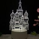 رخيصةأون خواتم-3d led الجدول ضوء الغزلان الحب ليلة lightcat يونيكورن برج ايفل مصباح للأطفال نوم