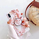 رخيصةأون أغطية أيفون-غطاء من أجل Apple iPhone XR / iPhone XS Max / iPhone X مع حامل / نموذج غطاء خلفي حجر كريم قاسي بلاستيك