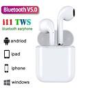 tanie Prawdziwe bezprzewodowe słuchawki douszne-z-yeuy nowe słuchawki i11 tws bluetooth 5.0 obsługa obuusznych połączeń obsługa dźwięku stereo automatyczne parowanie zestawów słuchawkowych
